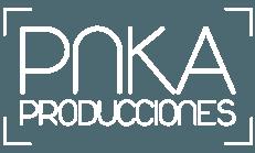 Logo blanco pnka producciones